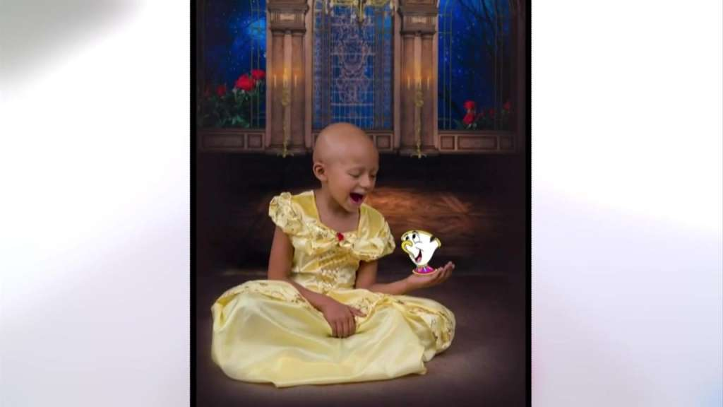 5-year-old RI girl battling cancer dresses up as princesses in magical photo shoot