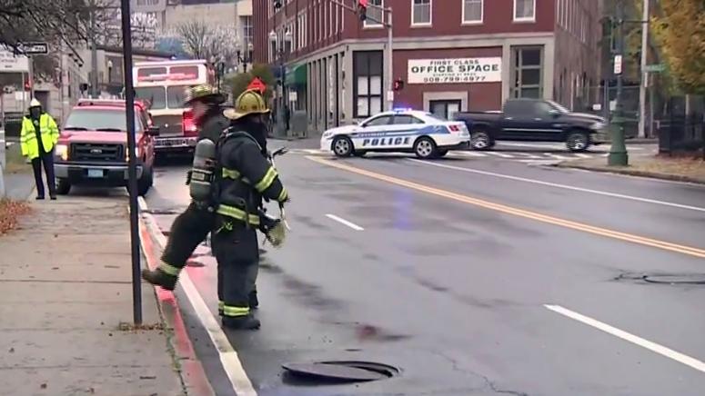 Worcester manhole