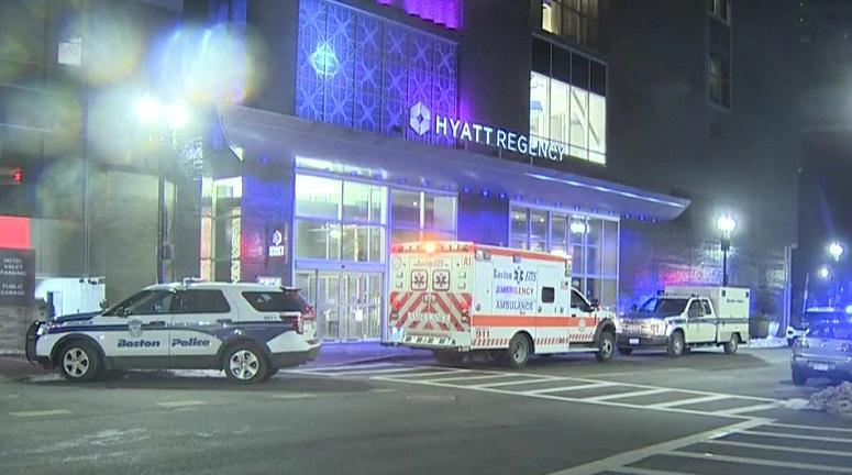 Man held on firearm charge after teenage girl fatally shot inside Boston hotel