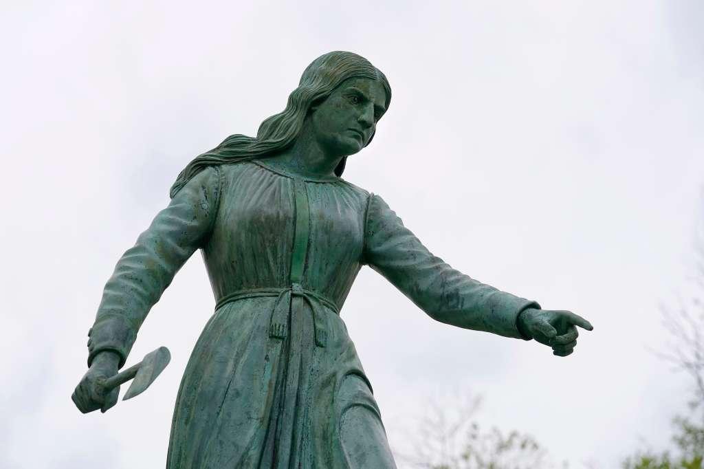 Racial Injustice Colonial Statue