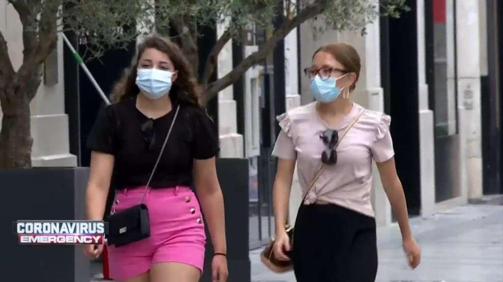 masks outside