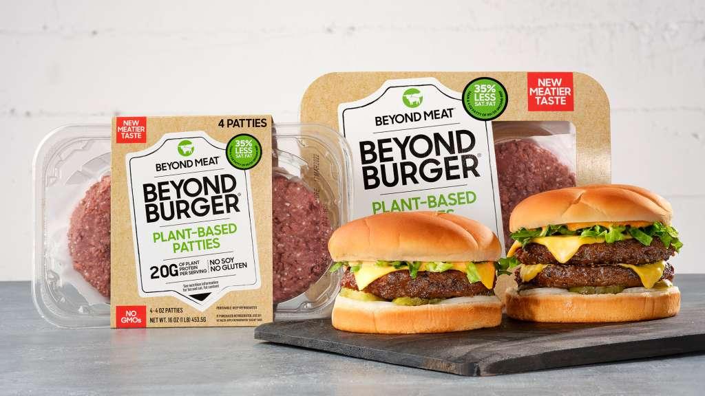 Beyond Burger meat