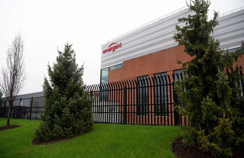 Emergent BioSolutions plant
