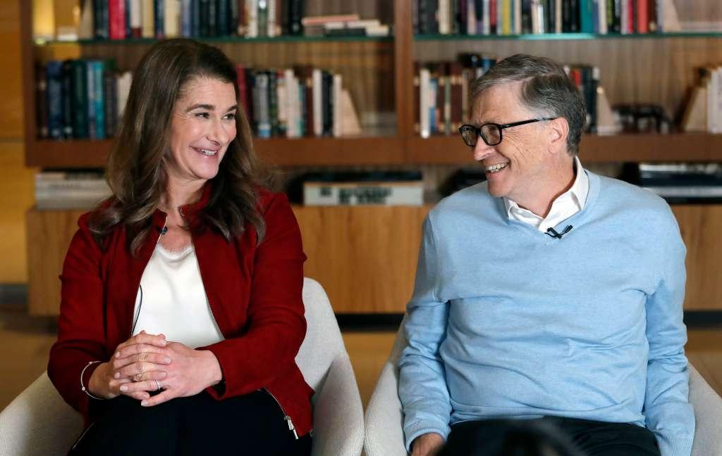 Bush Medal Bill and Melinda Gates