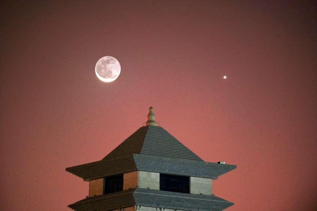 Venus Night Sky