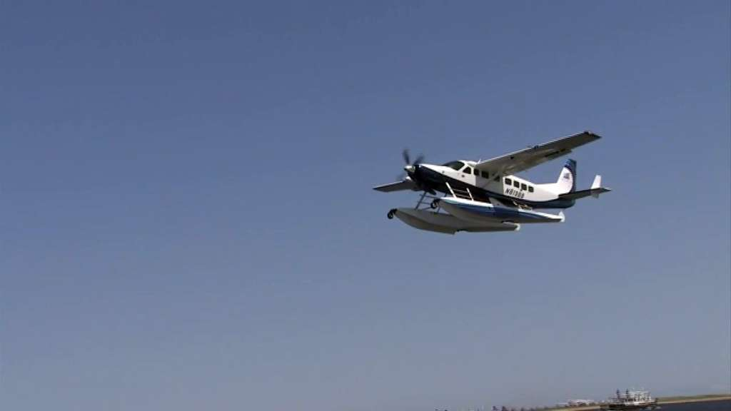 Tailwind sea plane Boston