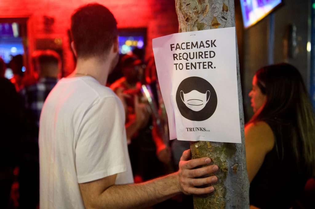 LA Mask Signage