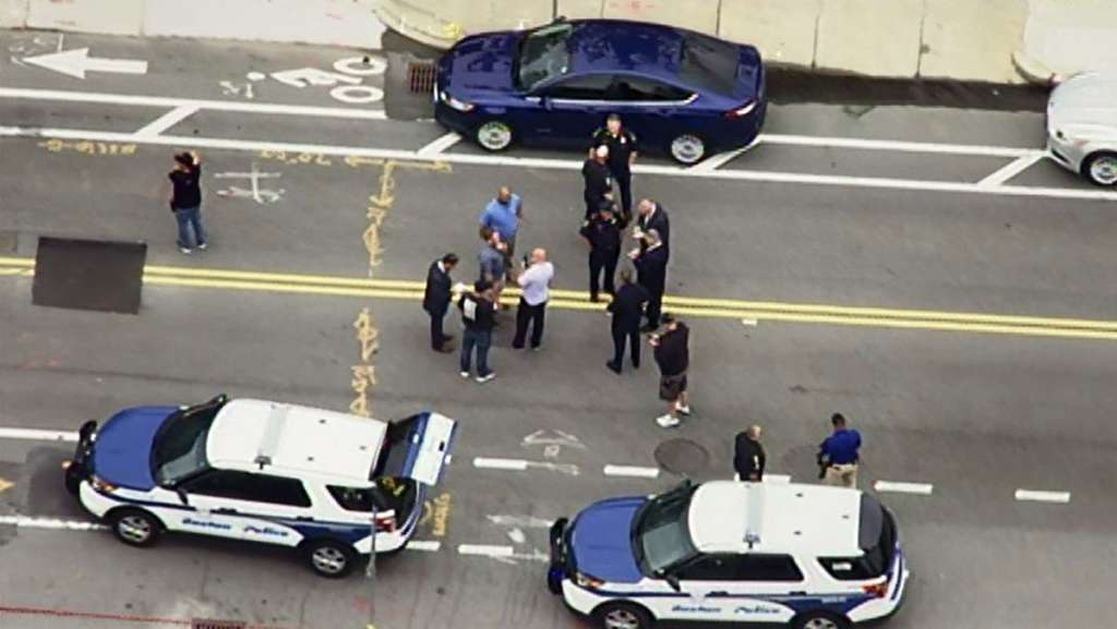 Police: Struggle during traffic stop led to officer-involved shooting in Roslindale