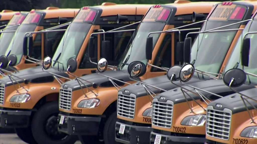 School buses boston